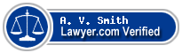 A. V. Smith  Lawyer Badge