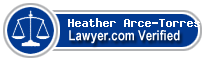 Heather Lea Arce-Torres  Lawyer Badge