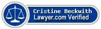 Cristine Beckwith  Lawyer Badge