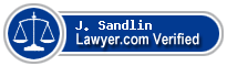 J. J Sandlin  Lawyer Badge