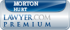 Morton Dyas Hurt  Lawyer Badge