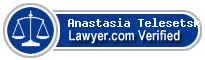 Anastasia Telesetsky  Lawyer Badge