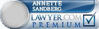 Annette Michelle Sandberg  Lawyer Badge