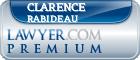 Clarence James Rabideau  Lawyer Badge