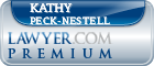 Kathy Ann Peck-Nestell  Lawyer Badge
