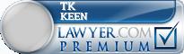 Tk Keen  Lawyer Badge