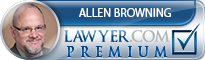 J. Allen Browning  Lawyer Badge