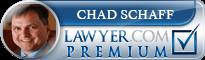 Chad Eugene Schaff  Lawyer Badge
