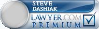 Steve Dashiak  Lawyer Badge