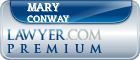 Mary Jean Conway  Lawyer Badge