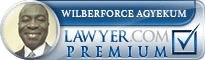 Wilberforce Agyekum  Lawyer Badge