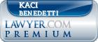 Kaci Callahan Benedetti  Lawyer Badge