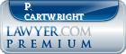 P. Breckenridge Cartwright  Lawyer Badge