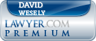 David Harry Wesely  Lawyer Badge