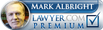 G. Mark Albright  Lawyer Badge