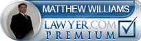 Matthew M. Williams  Lawyer Badge