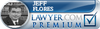 Jeff Flores  Lawyer Badge