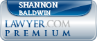 Shannon B. Baldwin  Lawyer Badge