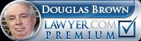 Douglas Brown  Lawyer Badge