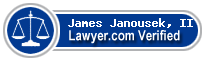 James M Janousek, II  Lawyer Badge