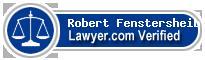 Robert Fenstersheib  Lawyer Badge