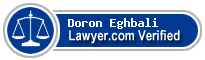 Doron F. Eghbali  Lawyer Badge