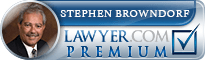 Stephen A. Browndorf  Lawyer Badge