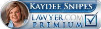 Kaydee Snipes  Lawyer Badge
