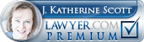 J. Katherine Scott  Lawyer Badge