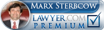 Marx David Sterbcow  Lawyer Badge