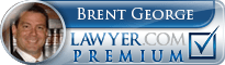 Brent D. George  Lawyer Badge