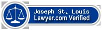 Joseph St. Louis  Lawyer Badge