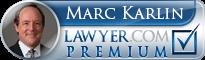 Marc Karlin  Lawyer Badge