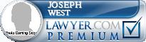 Joseph West  Lawyer Badge