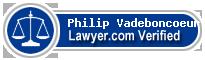 Philip Vadeboncoeur  Lawyer Badge