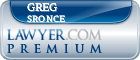 Greg Sronce  Lawyer Badge