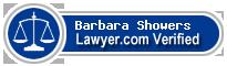Barbara Wynne Showers  Lawyer Badge