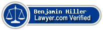 Benjamin Roy Hiller  Lawyer Badge