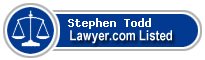 Stephen Todd Lawyer Badge
