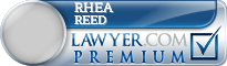 Rhea Ruth Reed  Lawyer Badge