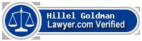 Hillel Goldman  Lawyer Badge
