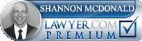 Shannon D. McDonald  Lawyer Badge