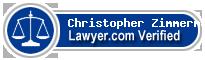 Christopher E. Zimmerman  Lawyer Badge
