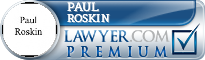 Paul Roskin  Lawyer Badge