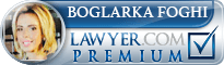 Boglarka Foghi  Lawyer Badge
