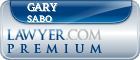Gary E. Sabo  Lawyer Badge