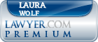 Laura Jean Wolf  Lawyer Badge