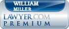 William B. Miller  Lawyer Badge
