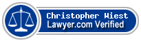 Christopher David Wiest  Lawyer Badge