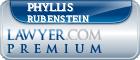 Phyllis E. Rubenstein  Lawyer Badge